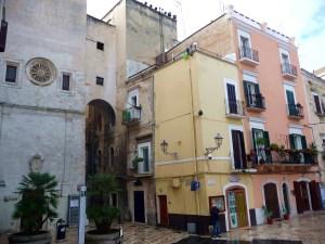 Entrada da Cidade Velha, Bari, Itália