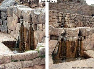 Baño el Inca, Vale Sagrado, Peru