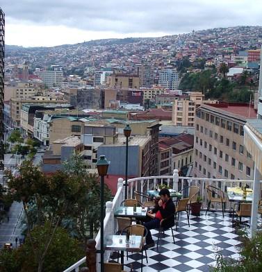 Barzinho em Valparaíso