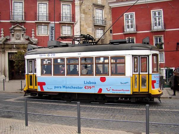Bonde em Lisboa