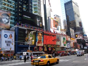 Broadway, New York, Estados Unidos, foto Barão