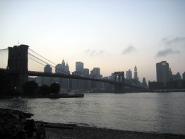 Brooklyn Bridge, Nova York, foto Barão