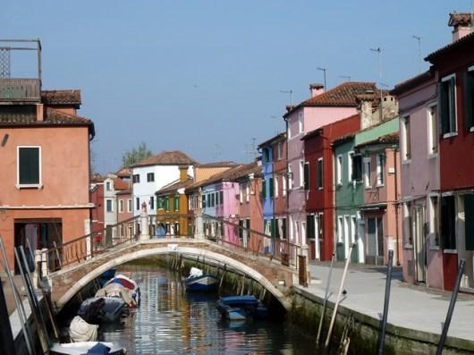 Burano, Laguna de Veneza