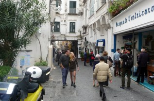 Costa Amalfitana, rua de Amalfi