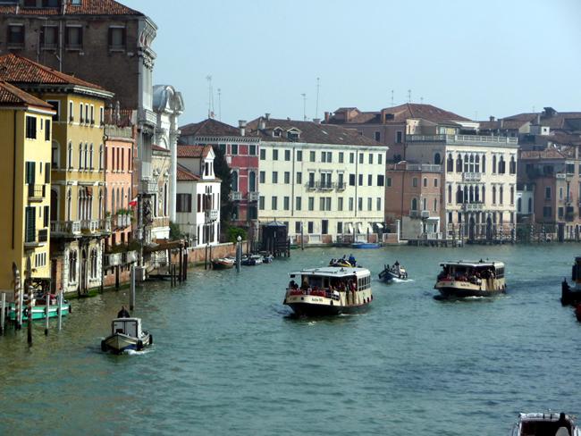 Canal Grande, principal artéria de Veneza