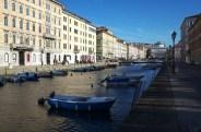Canal Grande em Trieste