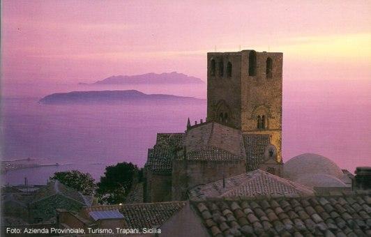 Sicília: castelo de Erice