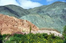 Cerro de los Siete Colores, no Noroeste da Argentina