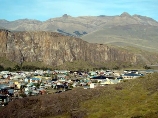 idade de El Chaltén, Patagônia, Argentina
