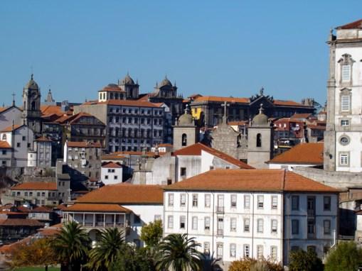 Cidade do Porto, vista de Vila Nova de Gaia