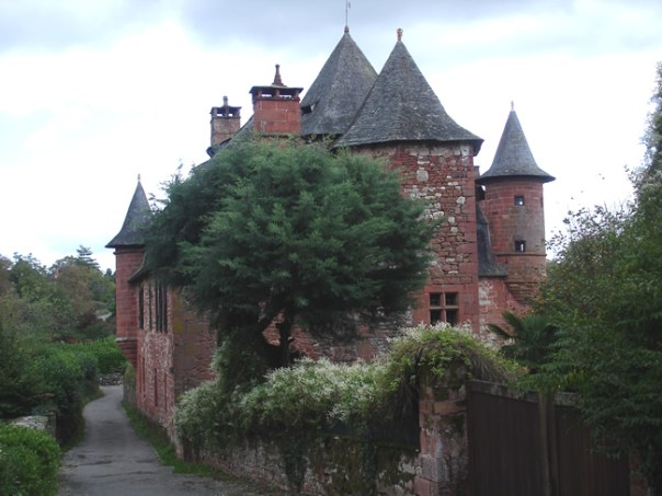 Collonges la Rouge, Limousin, França