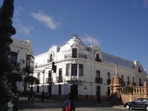 Construção colonial do Sucre, Bolívia