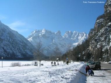 Cortina d Ampezzo, a famosa estação de esqui na Itália