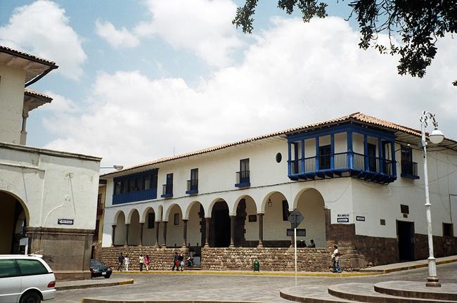 Construção colonial em Cusco