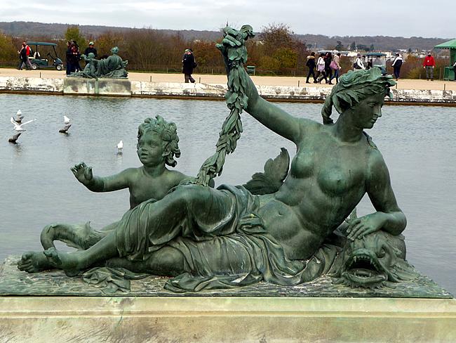 Escultura, Jardin de Versalles