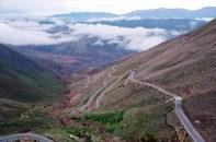 Estrada de Purmamarca para Salina Grande, Argentina