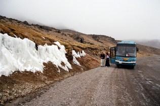 Estrada para o Valle del Colca, a quase 5.000 m