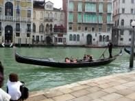 Gôndola no Canal Grande, Veneza, Itália