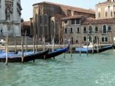 Gôndolas em Veneza, norte da Itália