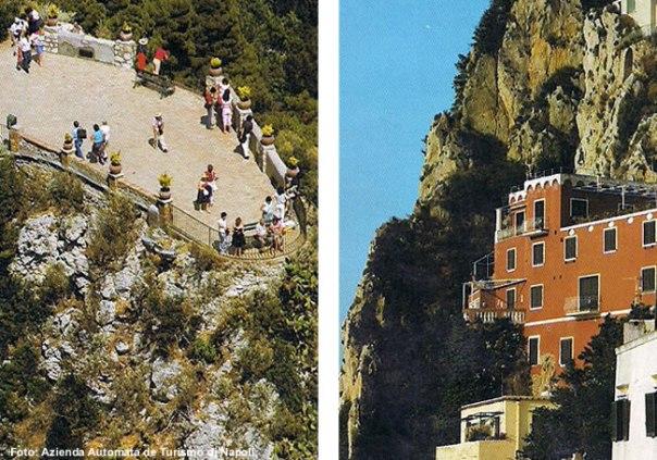 Giardini di Augusto, Capri, Campânia, Itália