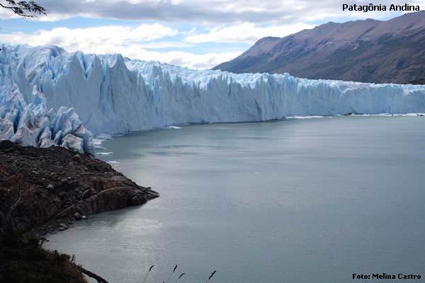 Glaciar Perito Moreno, na Patagônia, perto de El Calafate