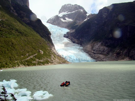 Glaciar Serrano, sul do Chile