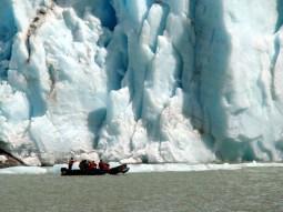 Glaciar Serrano, no Chile - Foto Manual do Turista