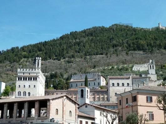 Cidade medieval de Gubbio, na Itália