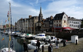 Honfleur, porto - Foto Manual do Turista
