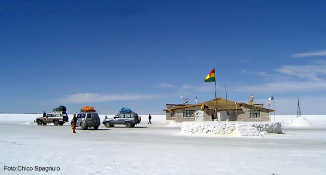 Hotel de sal, interior -