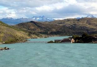 Hotel no lago, Torres del Paine, Chile