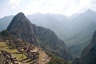 As ruínas de Machu Picchu