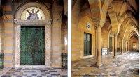 Interior do Duomo de Amalfi, Itália