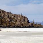 Isla Pescado, no Salar de Uyuni