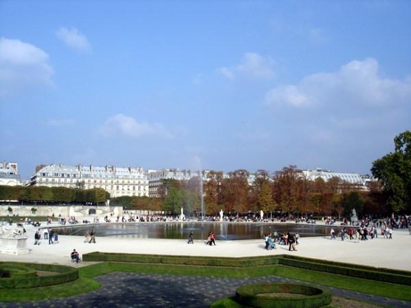 Jardin de Luxembourg, Paris, entre St-Germain e Quartier Latin