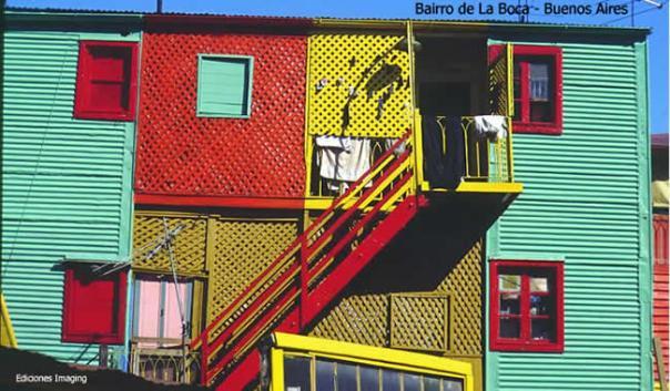 Bairro de La Bocca, Buenos Aires