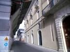 Centro histórico de l'Aquilla em obras