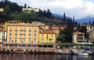 Lago di Como, no norte da Itália