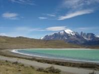 Laguna Amarga, Torres del Paine, no Chile