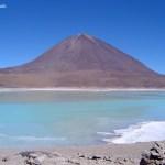 Laguna no salar de Uyuni