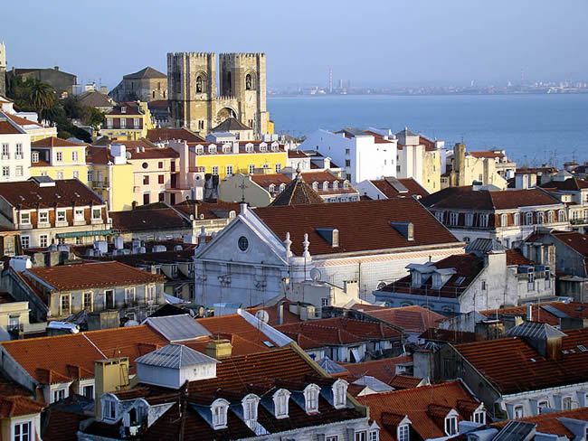Lisboa, às margens do rio Tejo
