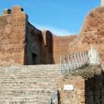 Ostia Antica, entrada das termas