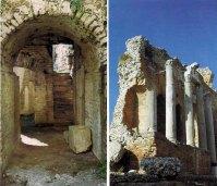 Odeon e Teatro greco-romano, Taormina, Itália