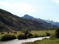 Paisagem em El Chaltén, Argentina