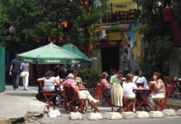 Bairro de Palermo, em Buenos Aires