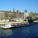 Paris, França, bateaux-mouches