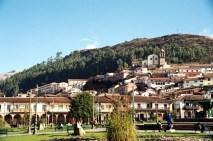 Arquitetura colonial espanhola, Plaza de Armas, Cusco