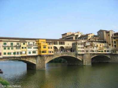 Ponte Vecchio, uma atração de Firenze