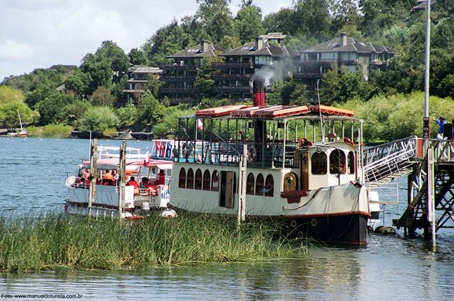 Chile, Pucón, lago Villarica - Foto Manual do Turista