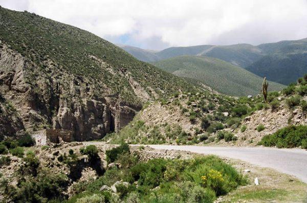 Quebrada de Cafayate, Noroeste